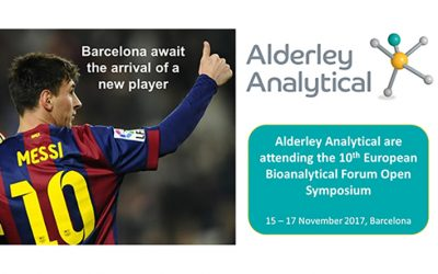Alderley Analytical Attending the 10th EBF Open Symposium