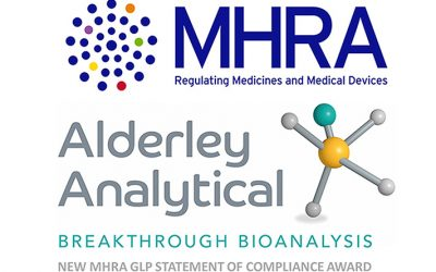 New MHRA GLP Statement of Compliance