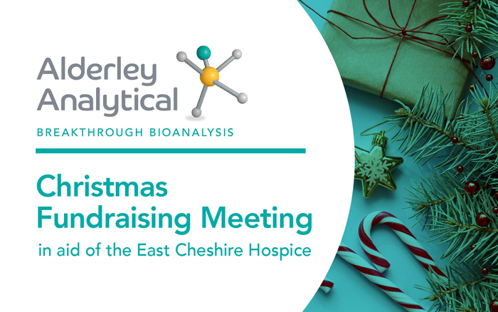 Christmas fundraising meeting in aid of the East Cheshire Hospice